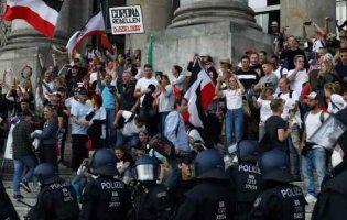 У Берліні через протести поліція затримала 365 осіб: як це було