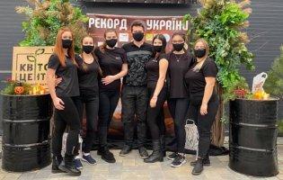 Волинянка стала учасницею встановлення рекорду України з вогняного масажу