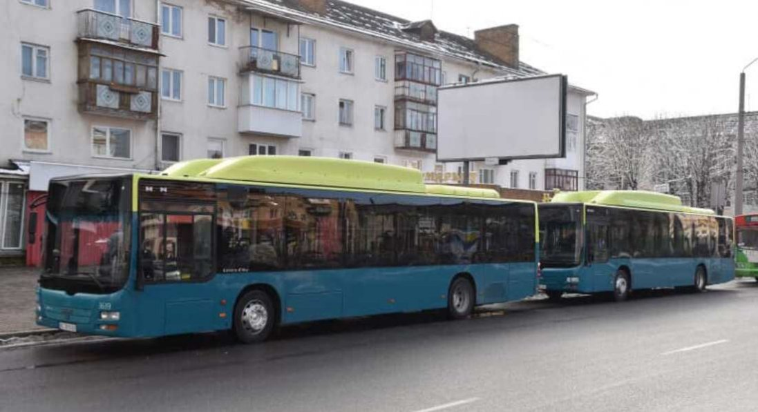 Луцьком курсуватимуть два нові автобуси