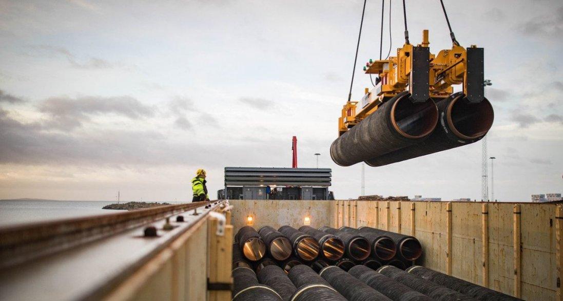 Відновили будівництво «Північного потоку-2»