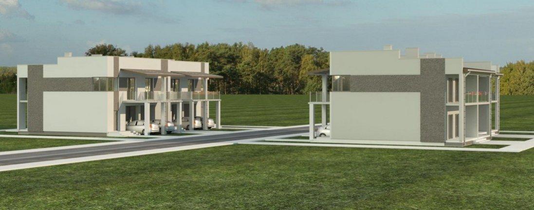 Біля Луцька зводять новий житловий комплекс: чим він особливий