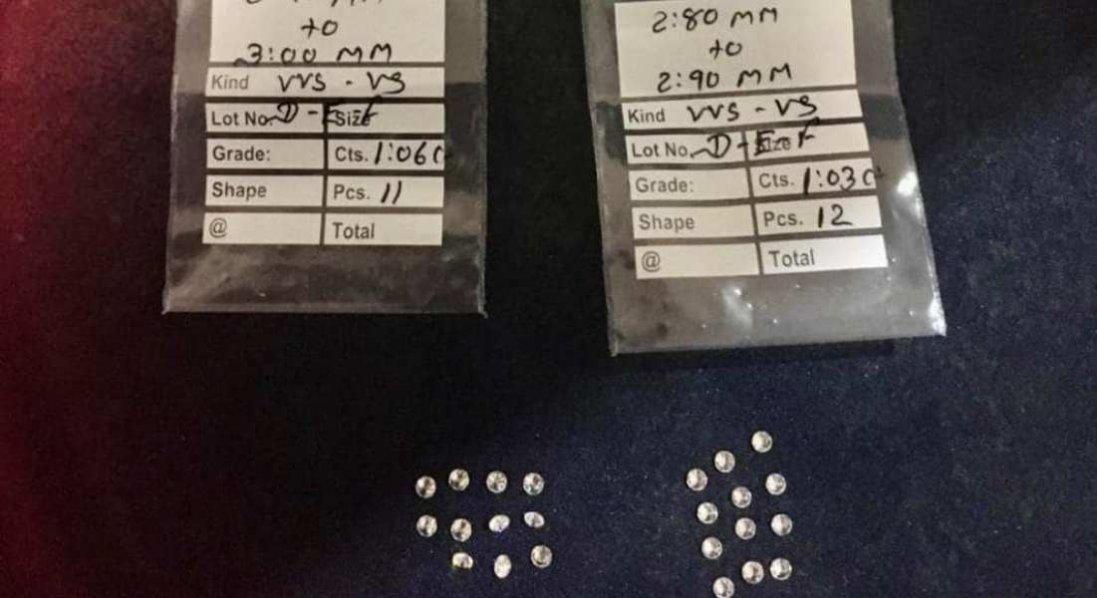 У Києві митники вилучили 23 контрабандних діаманта: що відомо