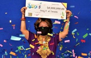 У Канаді жінка завдяки сну чоловіка виграла 60 000 000 в лотереї