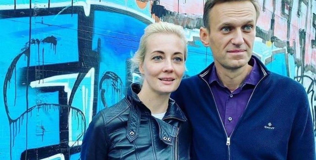 Затримали дружину Навального