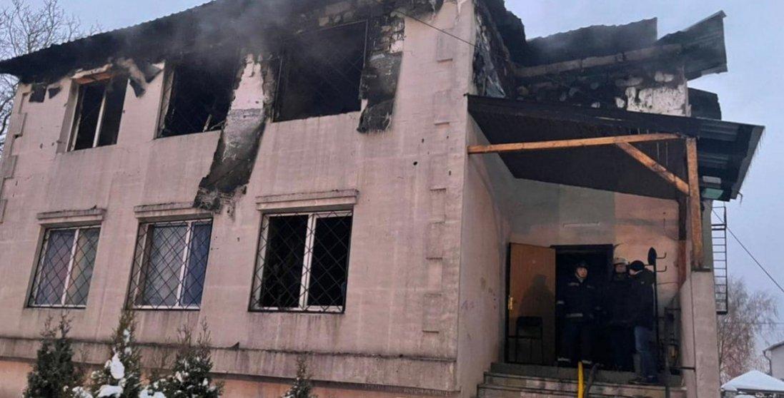 У Харкові знайшли пенсіонерку зі згорілого пансіонату