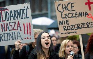 У Польші знову протести через заборону абортів