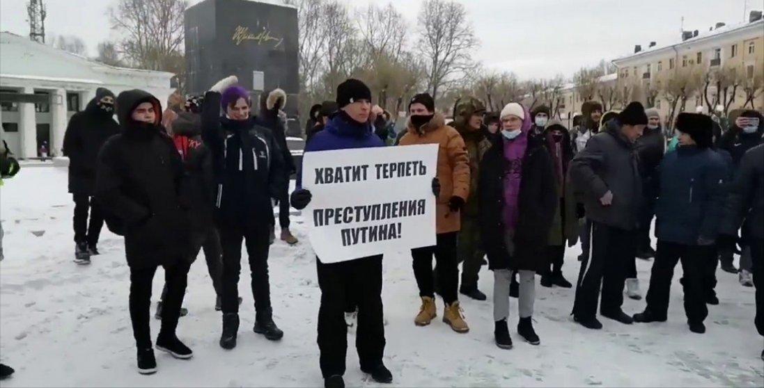 Протести в Росії: інтернет провисає, розгони людей тривають