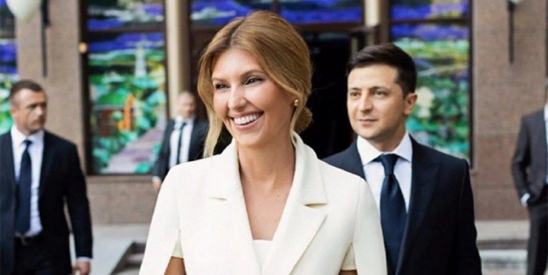 «З любов'ю, твій ВЗ»:  як Зеленський привітав першу леді України