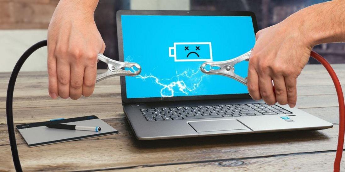 Що робити, якщо ноутбук перестав заряджатися?