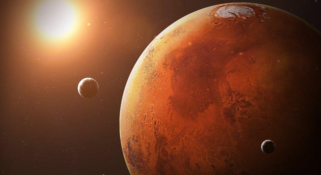 Нова послуга від NASA: фото на тлі марсіанського пейзажу