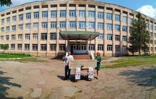 Мінікопію рідної школи виготовила за 582 години