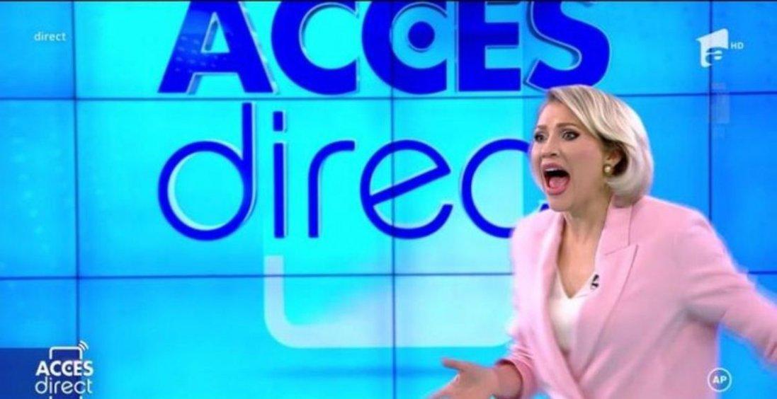 У Румунії оголена жінка жбурнула камінь  у телеведучу під час етеру