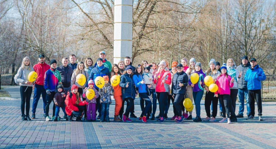 Команда Володимир-Волинської птахофабрики провела благодійний забіг