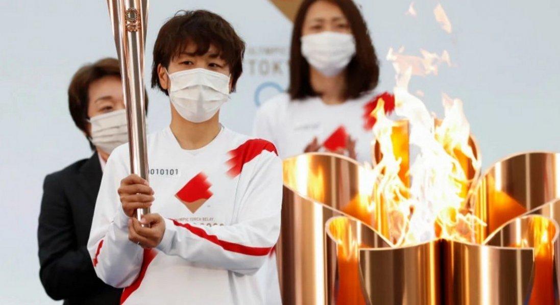 У Японії почалася естафета олімпійського вогню