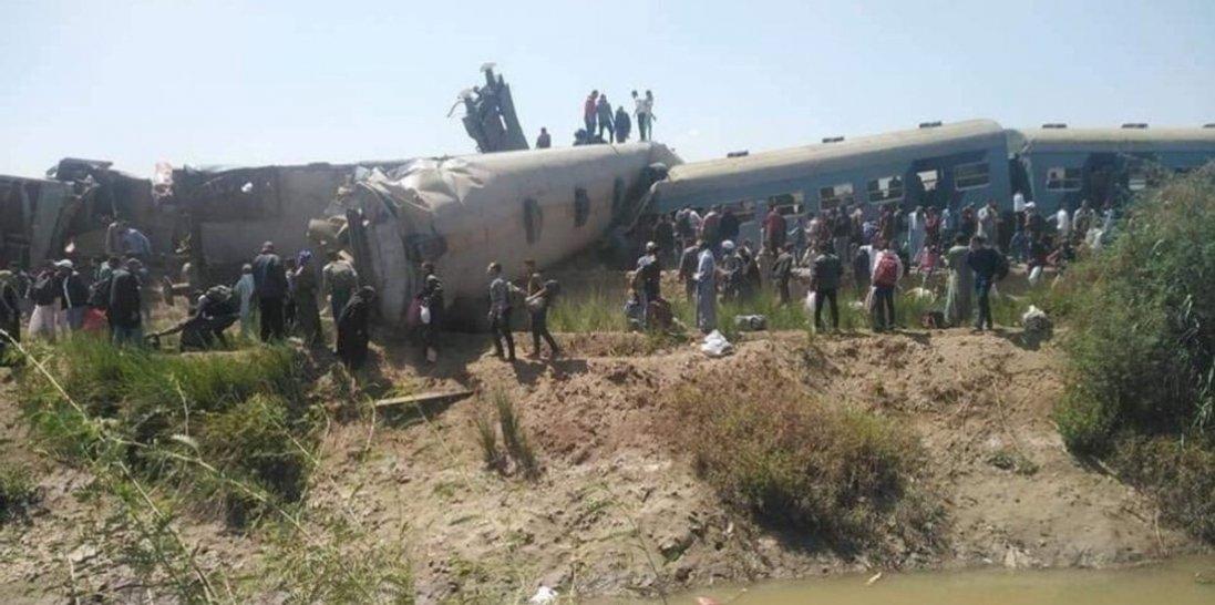 В Єгипті зіткнулися потяги: відомо про 32 загиблих