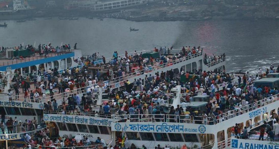 У Бангладеш затонув пором із 50 пасажирами на борту