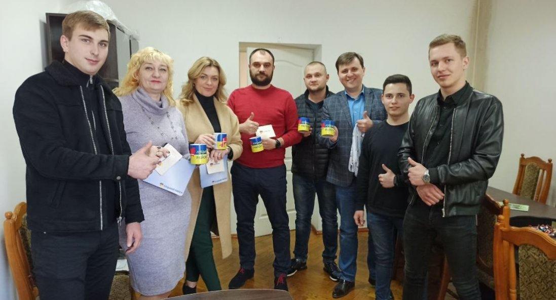 У Луцьку студенти презентували новий логотип району