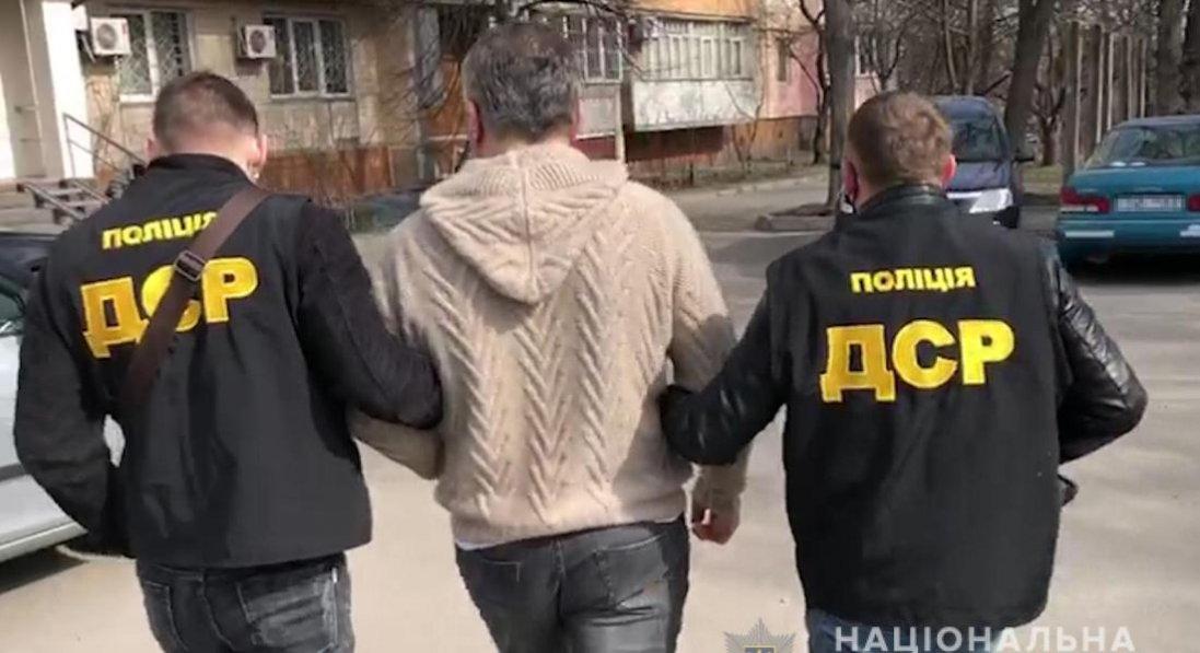 У Києві спіймали кримінального «авторитета» з РФ