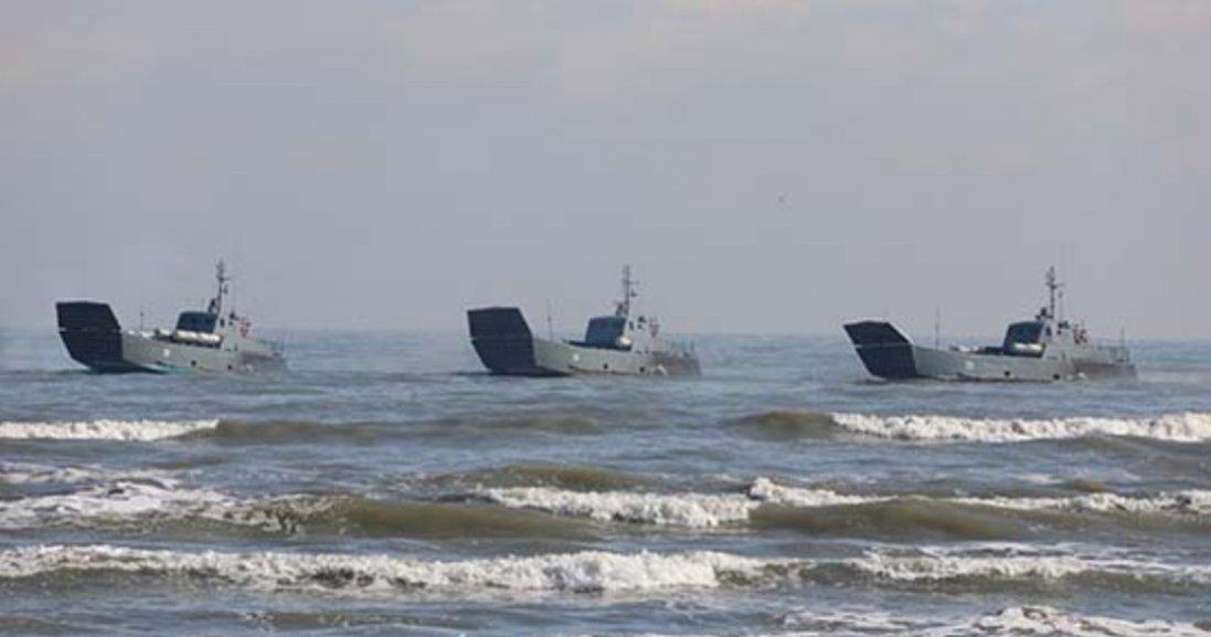 РФ перекидає вЧорне море судна Каспійської флотилії