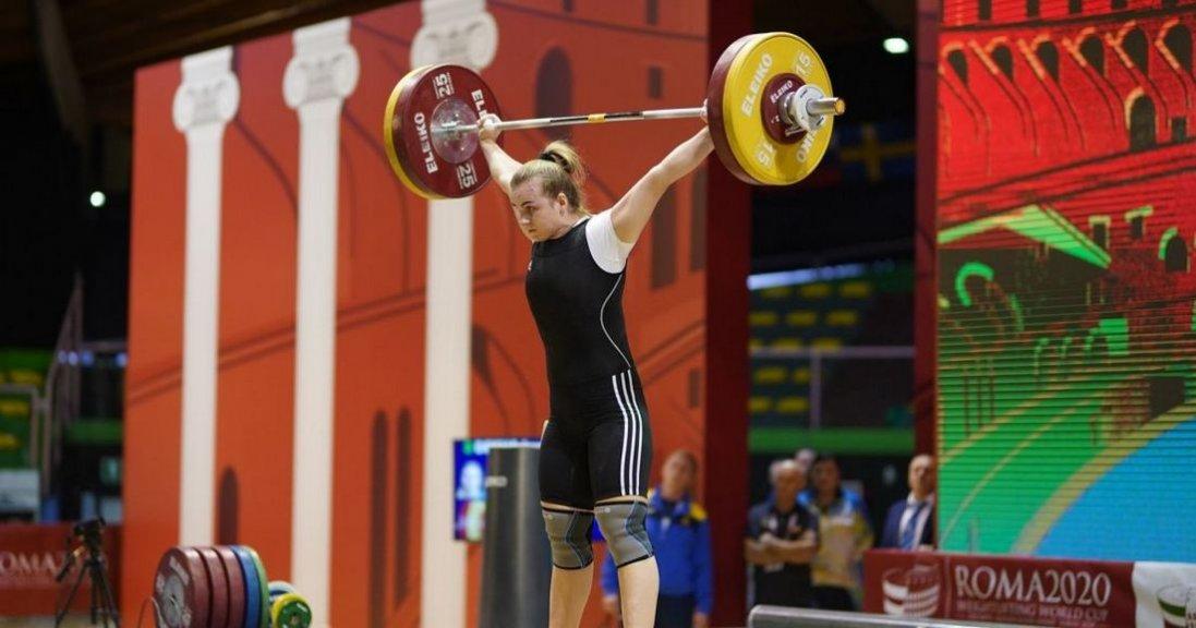 Українка стала абсолютною чемпіонкою Європи з важкої атлетики в Москві
