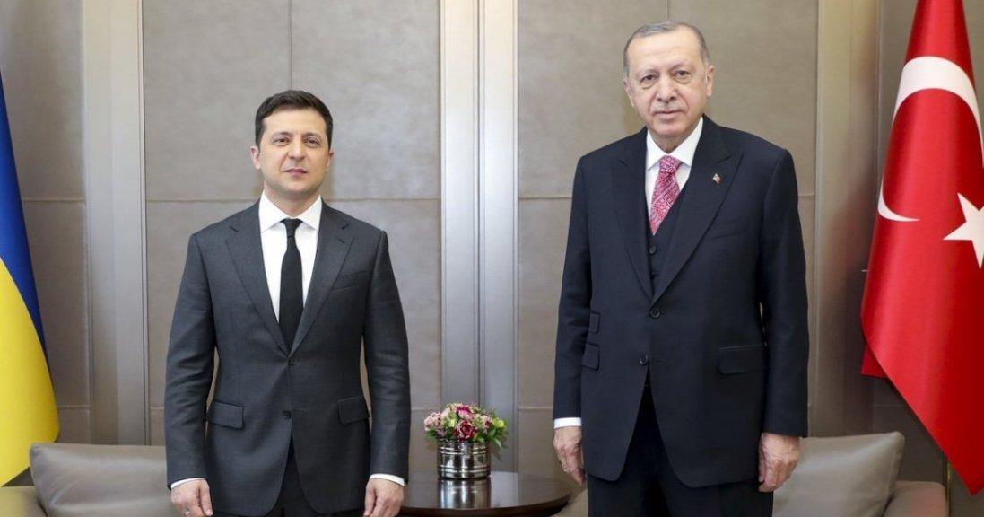 Крим і загострення на Донбасі: підсумки зустрічі Зеленського з Ердоганом
