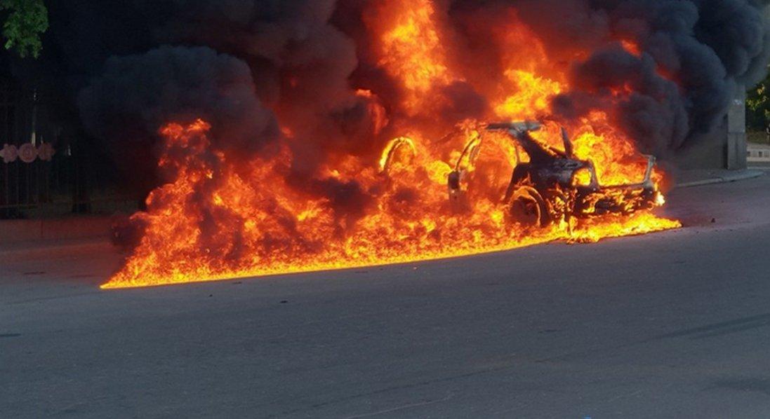 Спалили авто волинської журналістки