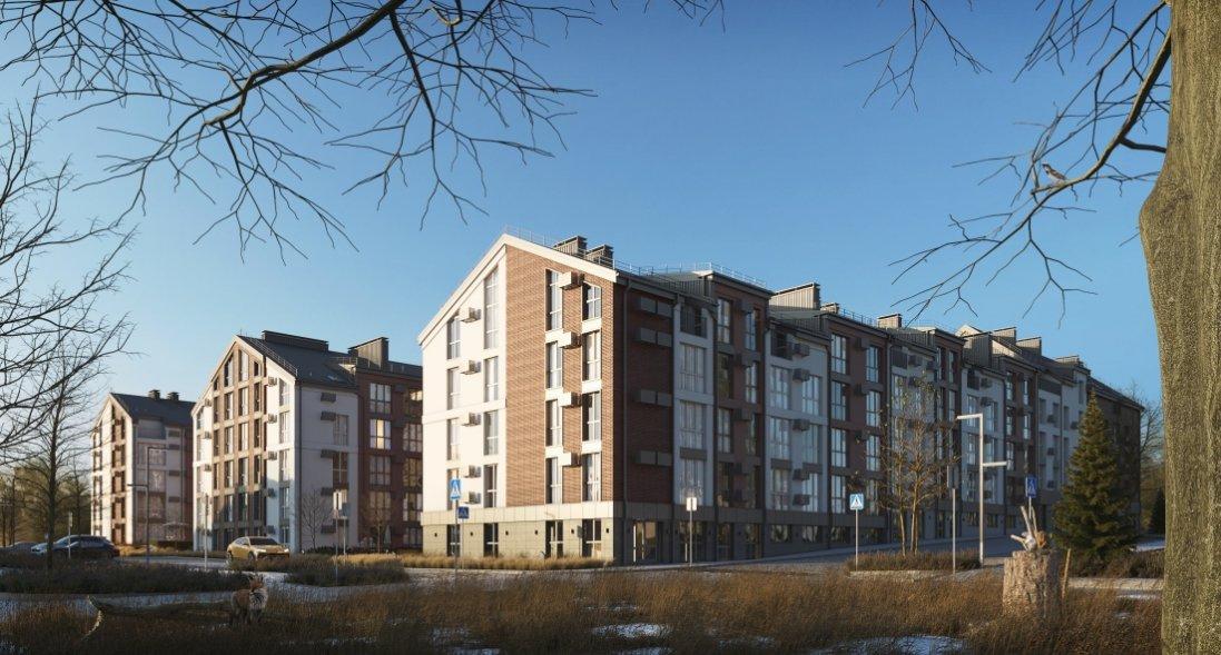 Європейські фасади, напіввідкритий двір та поквартирні «патіо». Чим особлива архітектура ЖК «Амстердам»