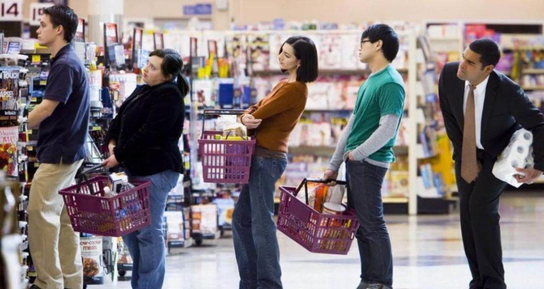 Як вибрати саму швидку чергу в супермаркеті