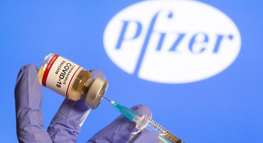 В Україну прибула перша партія вакцин Pfizer