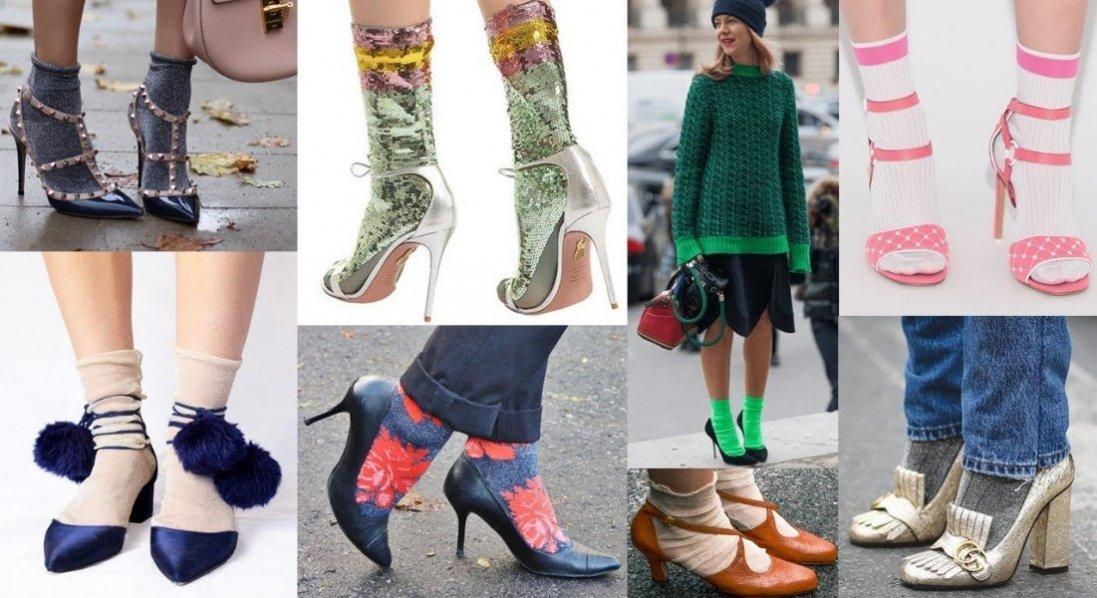 Особенности сочетания легкой обуви с носками