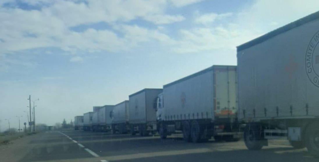 НаДонбас доставили майже 100 тонн гуманітарної допомоги