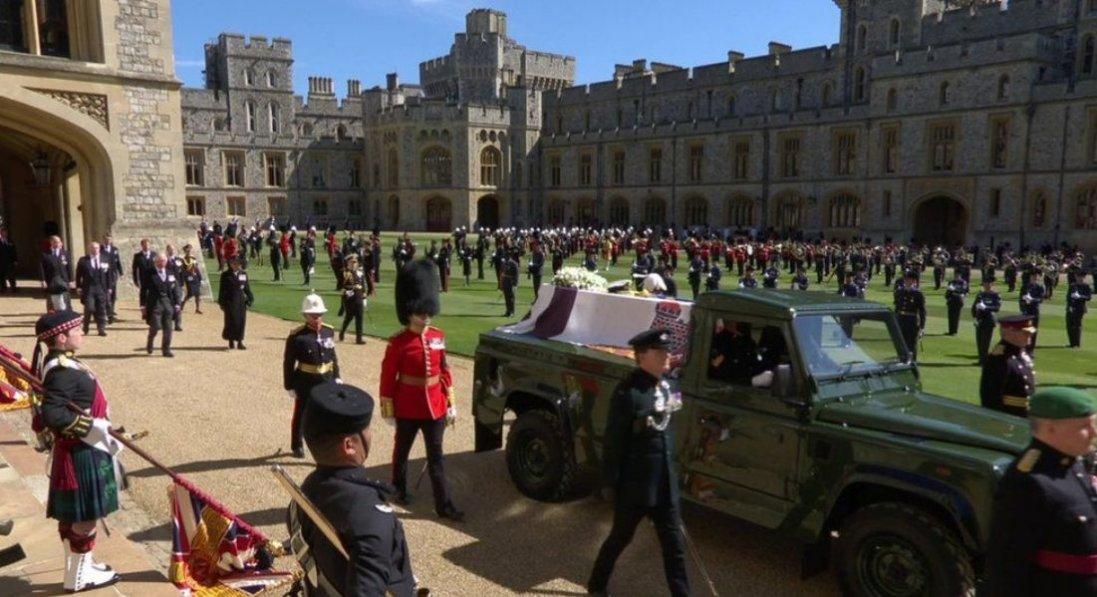 У Великій Британії почали церемонію похорону принца Філіпа