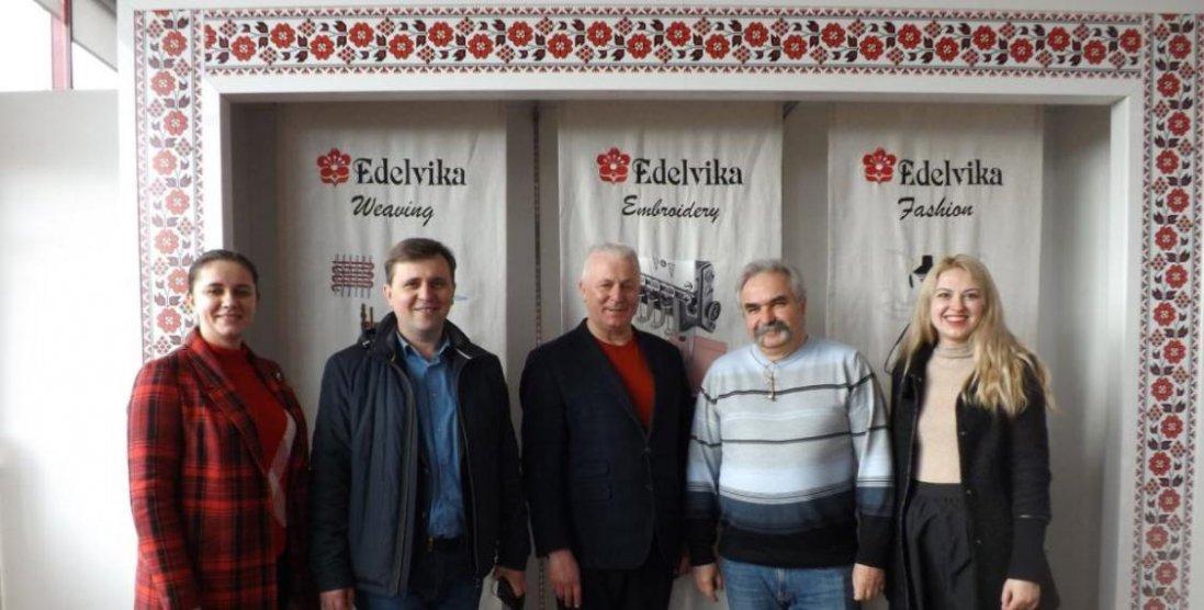 Голова Луцької районної ради домовився про партнерство із «Едельвіка»