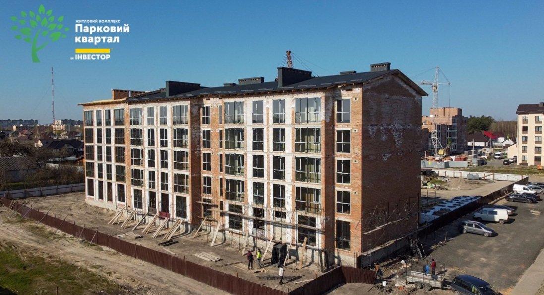 На якому етапі будівництво в ЖК «Парковому кварталі» в Ковелі