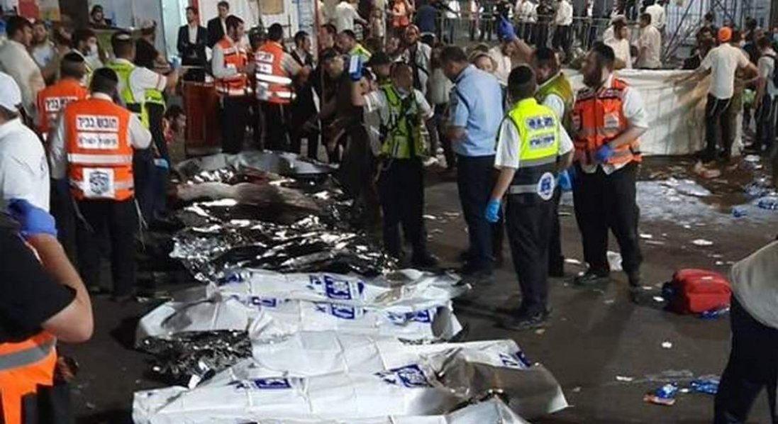 В Ізраїлі під час релігійного свята загинули десятки вірян