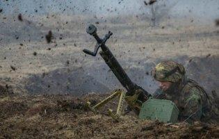 На Великдень терористи обстріляли українських військових