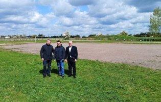В одному з сіл Луцького району школі подарують сучасне футбольне поле