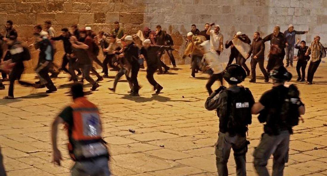 Заворушення на Храмовій горі у Єрусалимі: зафіксовано понад 200 поранених