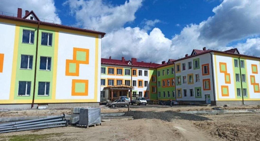 У селі на Волині добудовують сучасну школу: її відкриють до кінця року