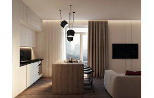 Як облаштувати квартиру з вільним плануванням. Приклад дизайну в ЖК «StyleUP»