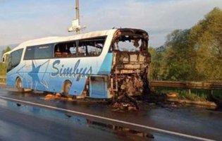 На Львівщині загорівся рейсовий автобус: як себе почувають два десятки пасажирів