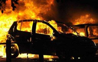 На Волині на трасі вщент згоріло авто