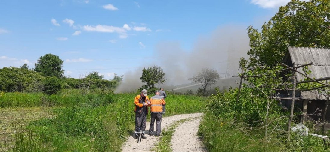 На Франківщині - аварія на магістральному газопроводі