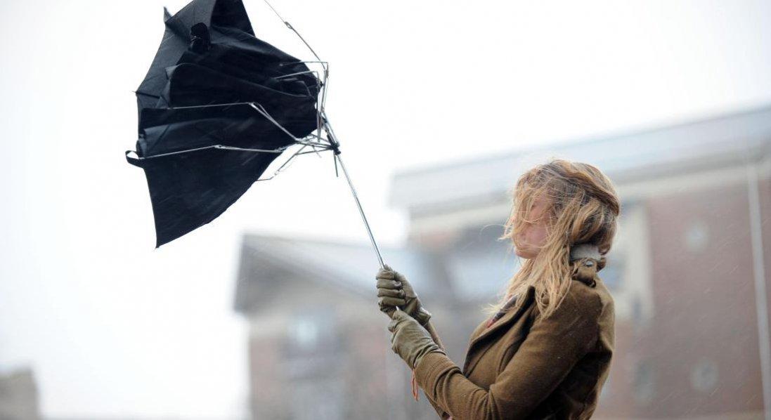 В Україні - штормове попередження