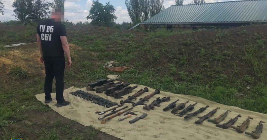 СБУ викрила українських військових, які хотіли вкрасти зброю ЗСУ