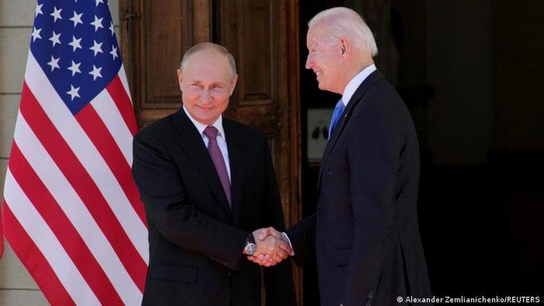 Зустріч Байдена і Путіна: говорили, зокрема, про війну на Донбасі