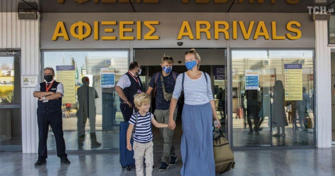 У Греції спростили умови в'їзду для туристів
