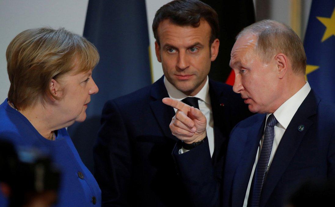 Меркель і Макрон хочуть запросити Путіна на саміт ЄС