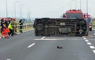 У Польщі в ДТП розбився автобус: серед пасажирів були українці