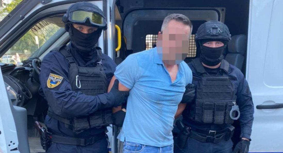 У Києві затримали іноземця, який втік з суду в Харкові